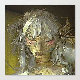 Discarded Angel Canvas Print