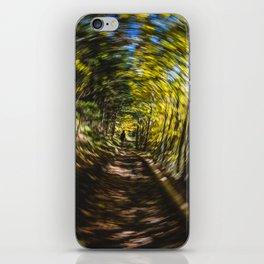 Spinning Around the Nature iPhone Skin