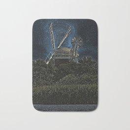 Horsey windmill Bath Mat