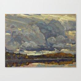 Tom Thomson Grey Sky 1914 Canadian Landscape Artist Canvas Print