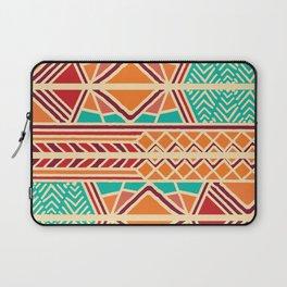 Tribal ethnic geometric pattern 027 Laptop Sleeve