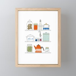 Scandinavian Pantry Framed Mini Art Print