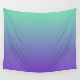 Purple and Green Blueberry Mink Sorbet Ice Cream Gelato Ices Wall Tapestry