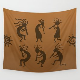 Kokopelli Wall Tapestry