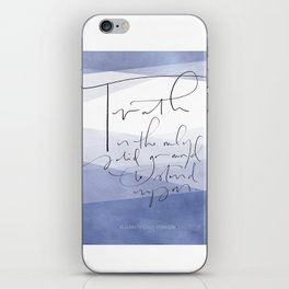 Truth - Elizabeth Cady Stanton iPhone Skin