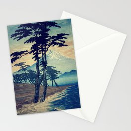 Late swimming after the floods in Hainsay Stationery Cards