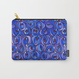 "Charles Rennie Mackintosh ""Roses and teardrops"" edited 4. Carry-All Pouch"