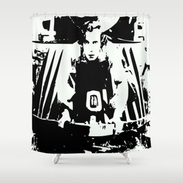 Buster Keaton Shower Curtain