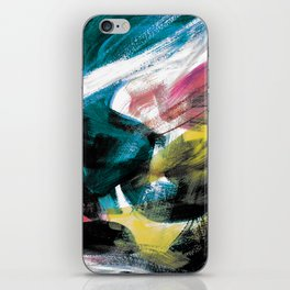 Abstract Artwork Colourful #3 iPhone Skin