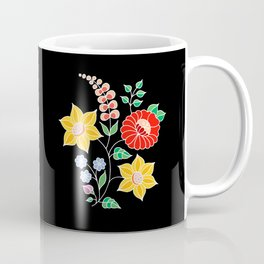 Hungarian placement print - black Coffee Mug