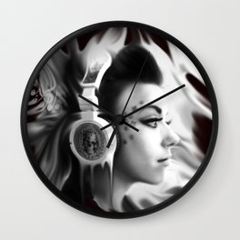 Lost in Lyric, Drowning in sound.  Wall Clock