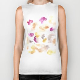 170722 Colour Loving 5 |Modern Watercolor Art | Abstract Watercolors Biker Tank