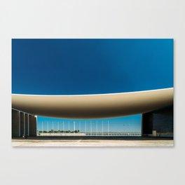 Portuguese National Pavilion In Lisbon, Alvaro Siza Vieira, Wall Art Print, Modern Architecture Art Canvas Print