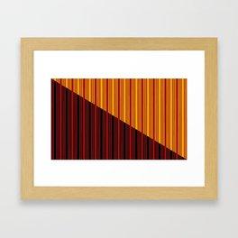Dawn Through the Blinds Framed Art Print