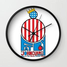 Fat Boy - Patriotic Wall Clock