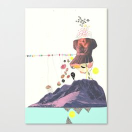 In a Pretty Land---for RVLVR Canvas Print