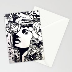 Strong Girl Stationery Cards