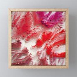 Lipstick on Glass Framed Mini Art Print