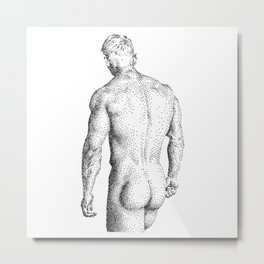 David - Nood Dood Metal Print