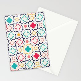 Cute Eastern Pattern Stationery Cards