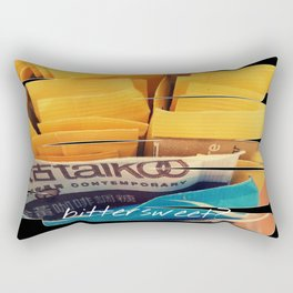 Bittersweet? Rectangular Pillow