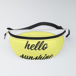 Hello Sunshine Fanny Pack