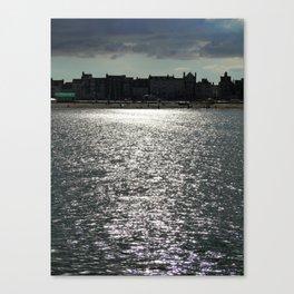 Sea Silhouette Canvas Print