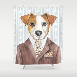 Jacki Russell Shower Curtain