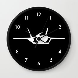F-35 Lightning II Military Fighter Jet Aircraft  Wall Clock