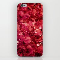 ruby iPhone & iPod Skins featuring Ruby by Lotus Effects