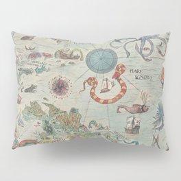 Carta Marina 2 Pillow Sham