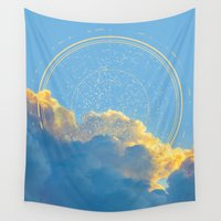 constellation Wall Tapestries featuring Create Your Own Constellation by soaring anchor designs
