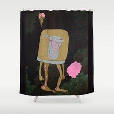 Silence Shower Curtain