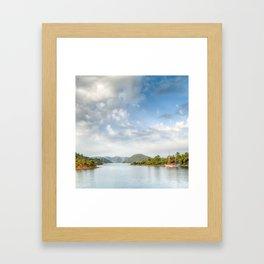 Sailing the Mediterranean 04 Framed Art Print