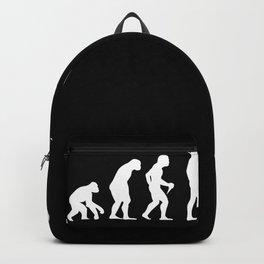 Dog Walker Evolution T-Shirt Gift Backpack