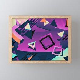 Memphis Framed Mini Art Print