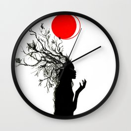 Fertile Mind Wall Clock