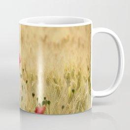 Dream poppies. Spring fields. Early morning Coffee Mug