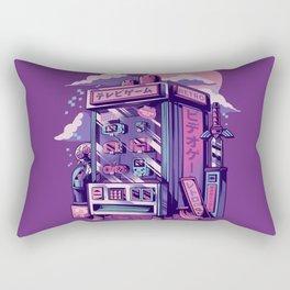 Retro gaming machine Rectangular Pillow