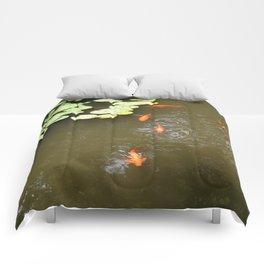Zen garden Comforters