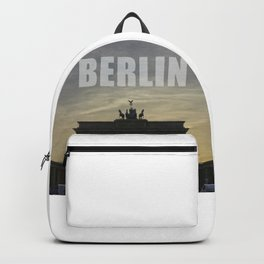 BERLIN, Sunset at the Brandenburg Gate Backpack