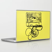 tape Laptop & iPad Skins featuring K7 TAPE by Vickn