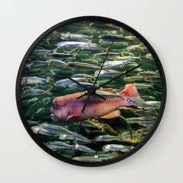 Monster in the Midst Wall Clock