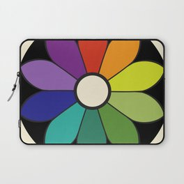 James Ward's Chromatic Circle (interpretation) Laptop Sleeve