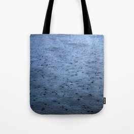 Estuary Rain Tote Bag