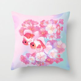 Sakura Ryukin Throw Pillow