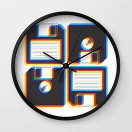 Outdated As Fuck Wall Clock