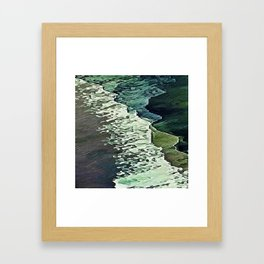 Calm Shores Framed Art Print