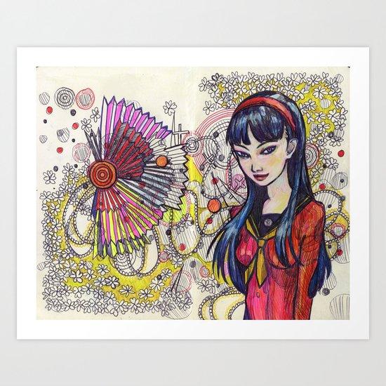 Yukiko Art Print
