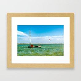 Lagoa do Paraiso Jericoacoara Brazil Framed Art Print